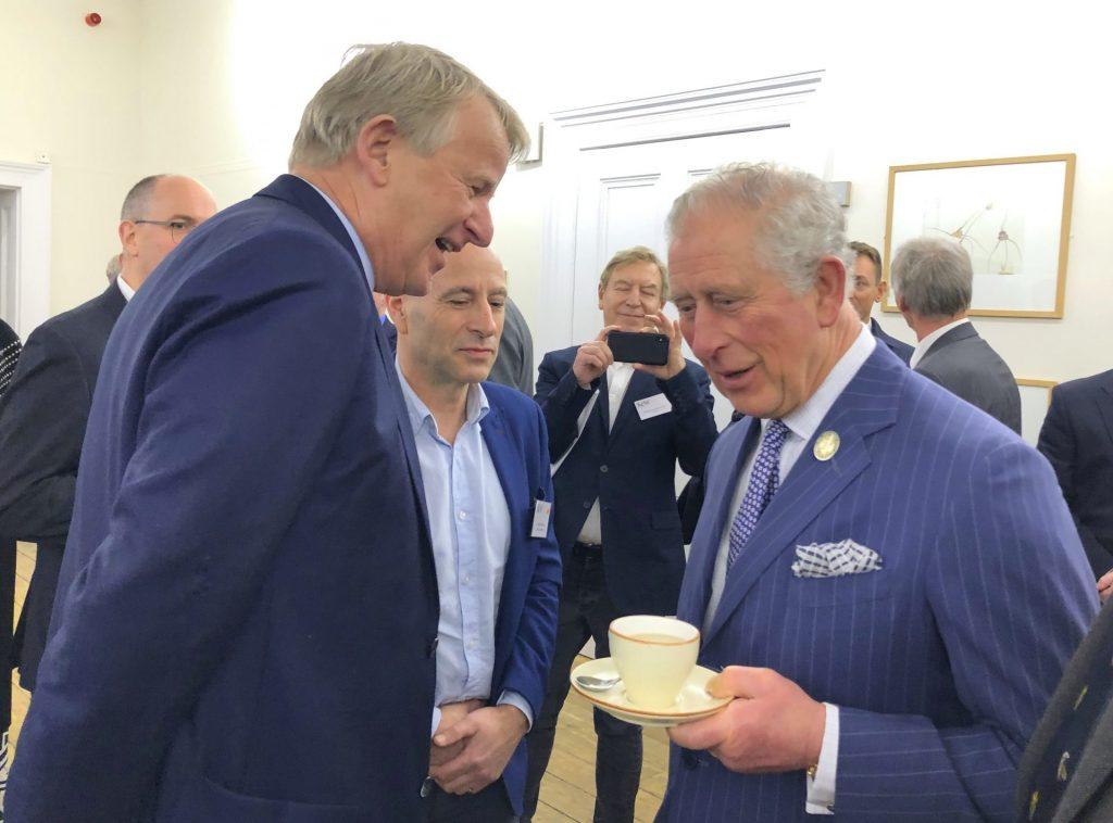 Jan-Dieter Bruns und der Prince of Wales
