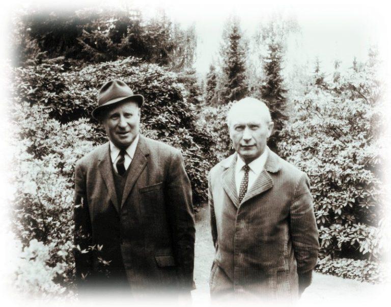 Wilhelm und Erich Bruns