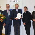 Verleihung der Osnabrücker Ehrenmedaille an Jan-Dieter Bruns