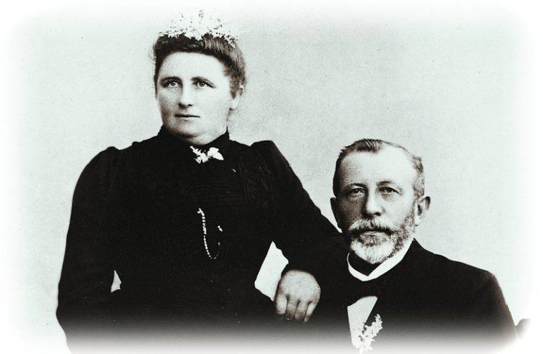 Gründer Bruns mit seiner Frau